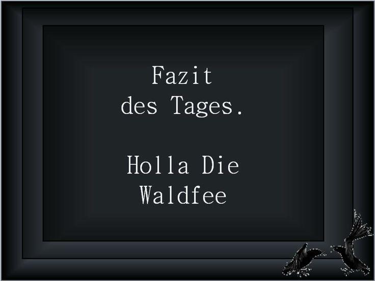 Holla, die Waldfee... - http://1pic4u.com/2015/09/08/holla-die-waldfee/