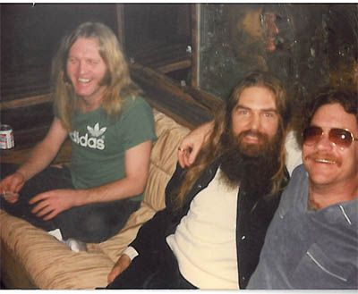 ~ Summer, 1980. Barry Lee Harwood, Artimus Pyle and Billy Powell on the ...