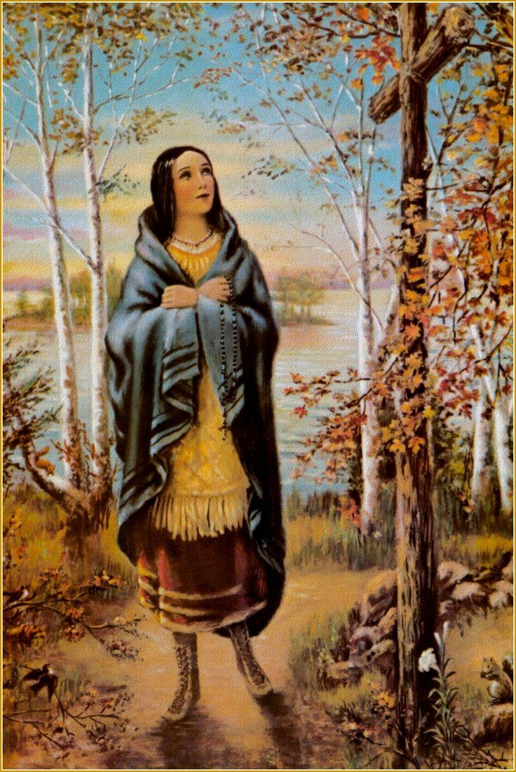10 Best Images About Saint Kateri Tekakwitha On Pinterest