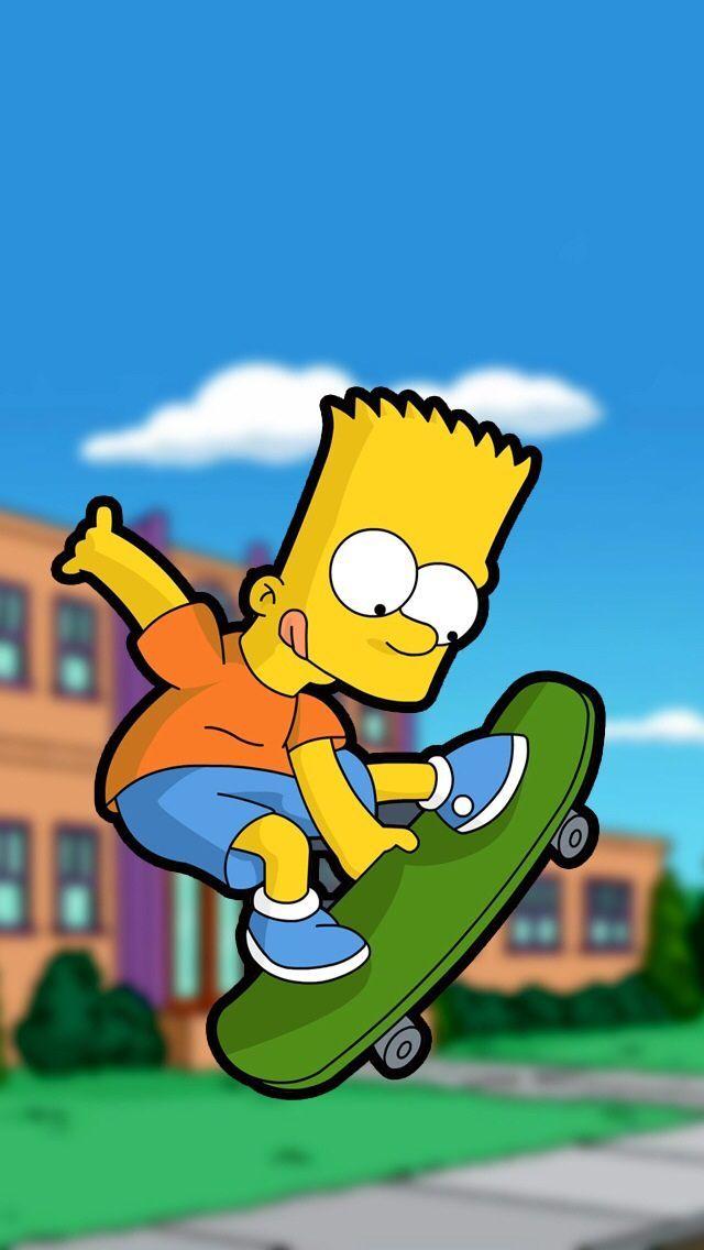 Fondo De Bart Simpsons Fondos De Los Simpsons Fondos De