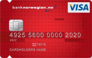 Vår vinnere av Beste Reisekort og Beste kredittkort med Flybonus. Alt du betaler med kortet gir deg CashPoints som du kan bruke når du bestiller flybilletter med Norwegian. CashPoints kan brukes til å hel- eller delbetaler flyreiser hos Norwegian. I tillegg får du ekstra CashPoints når du kjøper flybilletter med Norwegian. Reise- og avbestillingsforsikring inkludert når du betaler 50% av reisen med kortet.