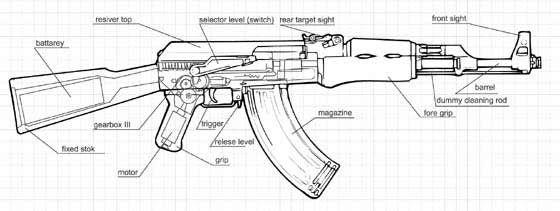 Как из дерева сделать АК - 47?