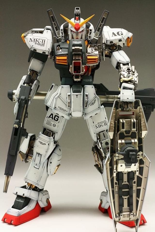 MASTERPIECE: PG 1/60 RX-178 Gundam MK-II A.E.U.G Modeled