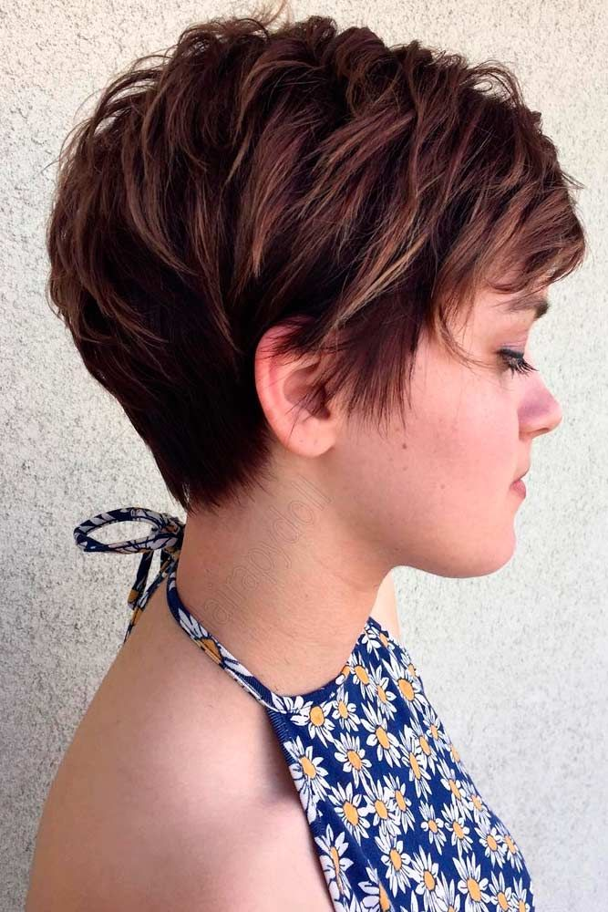 27 Ideas Of Wearing Short Layered Hair For Women  hair  Short choppy hair Choppy hair Short