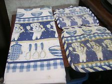 Pillsbury Dough Boy Kitchen Towel and 2 Potholders