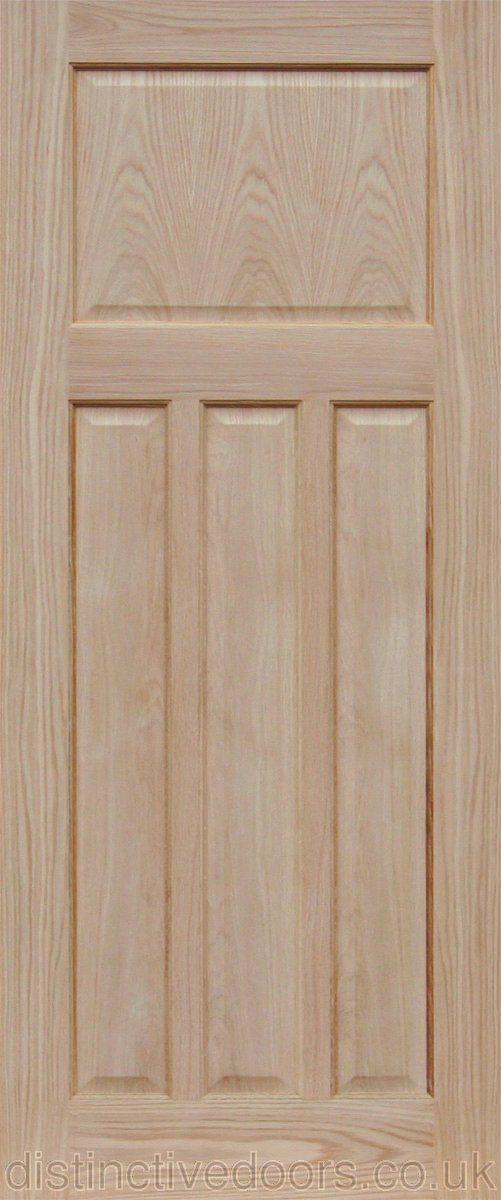 Edwardian Oak Internal Fire Door