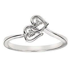 white gold promise rings..