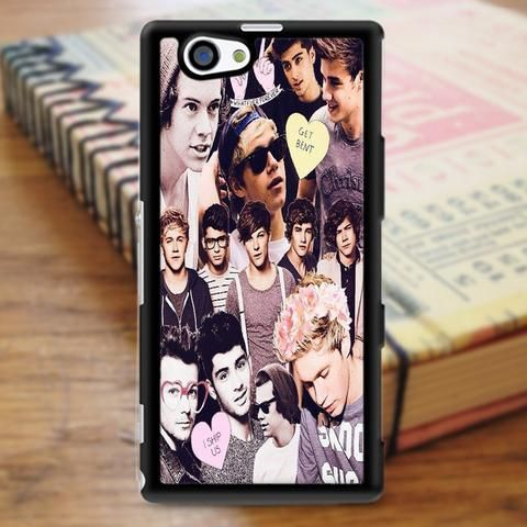 One Direction 1d Collage Sony Experia Z3 Case