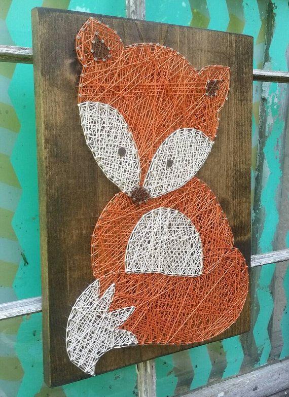 BEGRENZTE Zeit Verkauf Wald Waldfreunde String Art Tiere