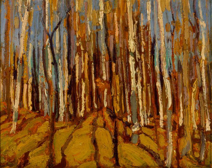 Tom Thomson Catalogue Raisonné | Forest Interior, Fall 1914 (1914.51) | Catalogue entry