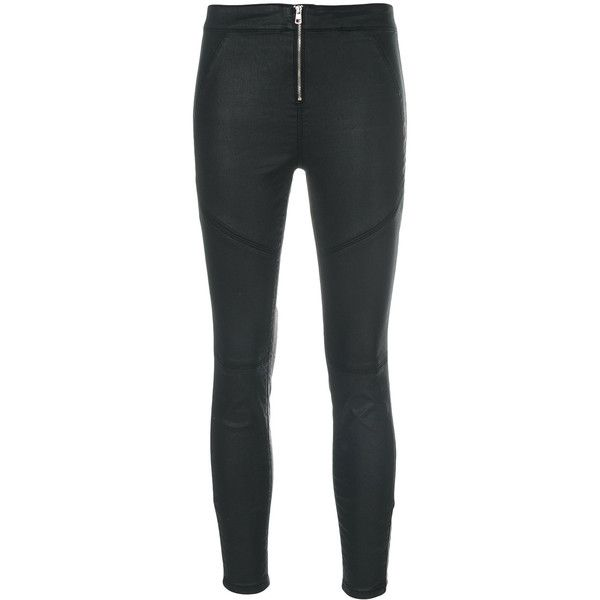 Ck Jeans skinny wax effect jeans (594825 PYG) ❤ liked on Polyvore featuring jeans, black, super skinny jeans, skinny fit jeans, skinny jeans, skinny leg jeans and calvin klein jeans