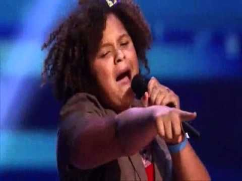 O... M ... G!!!!!!!! THIS little girl SO ROCKS IT!!!!!!!!! Remember this name ~> Rachel Crow (she's gonna be big) while you listen to her AMAZING performance as she sings Duffy's - Mercy .. ENJOY!