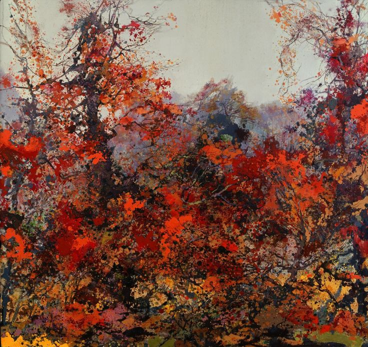 "insipit: ""Hong Ling (洪凌) (1955, China) Abstract landscapes Hong Ling is a contemporary Chinese painter, and an example of a prominent oil painter within Chinese landscape painting, which typically..."
