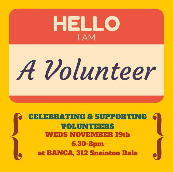 Hello, I am a volunteer - Sneinton Alchemy