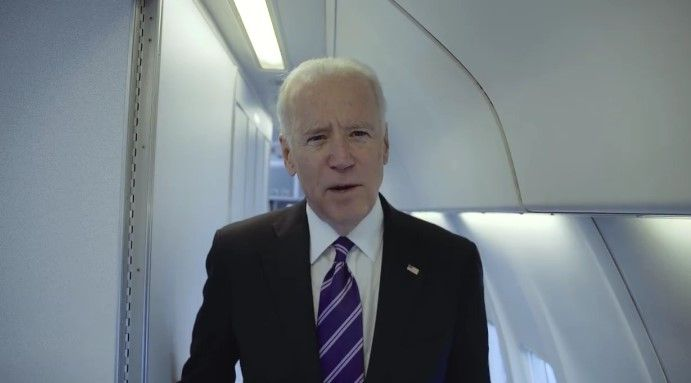 Джо Байден опубликовал видео о поездке в Украину