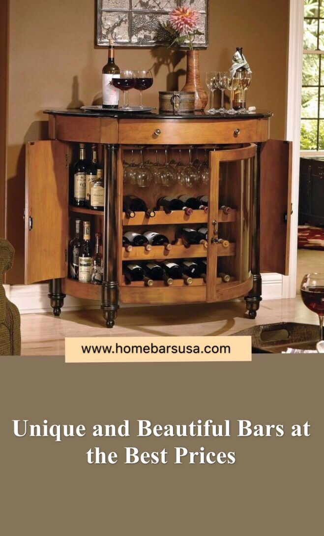A Vast Selection Of Unique Bars That Fit Any Home Style And