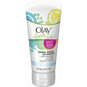 Olay Fresh Effects Shine, Shine Go Away! Shine Minimizing Cleanser, 5 fl oz
