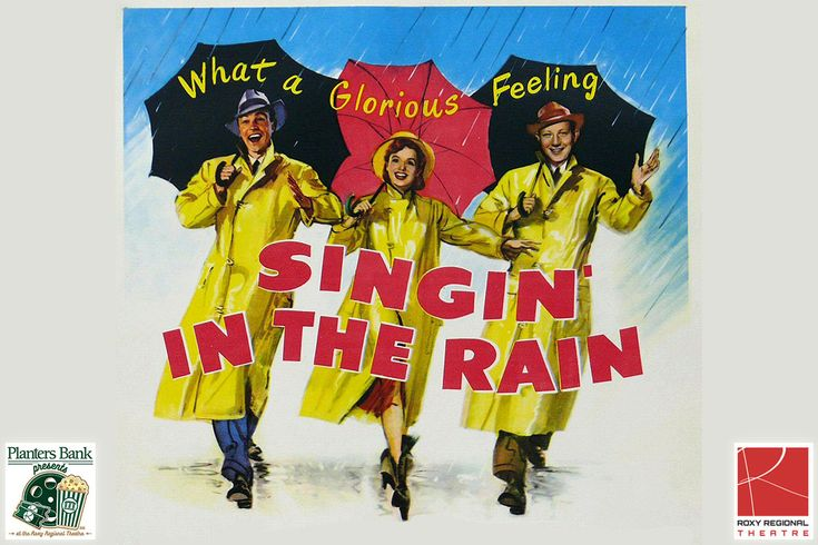 Planters Bank Presents to feature Singing in the Rain at the Roxy Regional Theatre this Sunday, February 26th