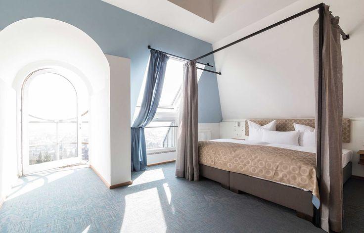 Bolon Silence Pulse flooring at the Hotel Schöne Aussicht in Frankfurt, Germany