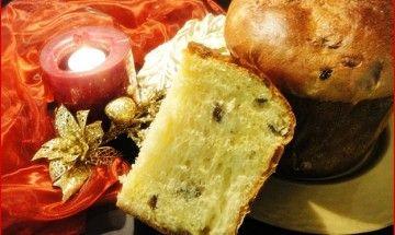 Panettone con lievito madre all'uvetta e albicocche