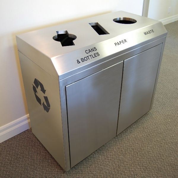 17 Best Images About Commercial Trash Amp Recycle Bins On