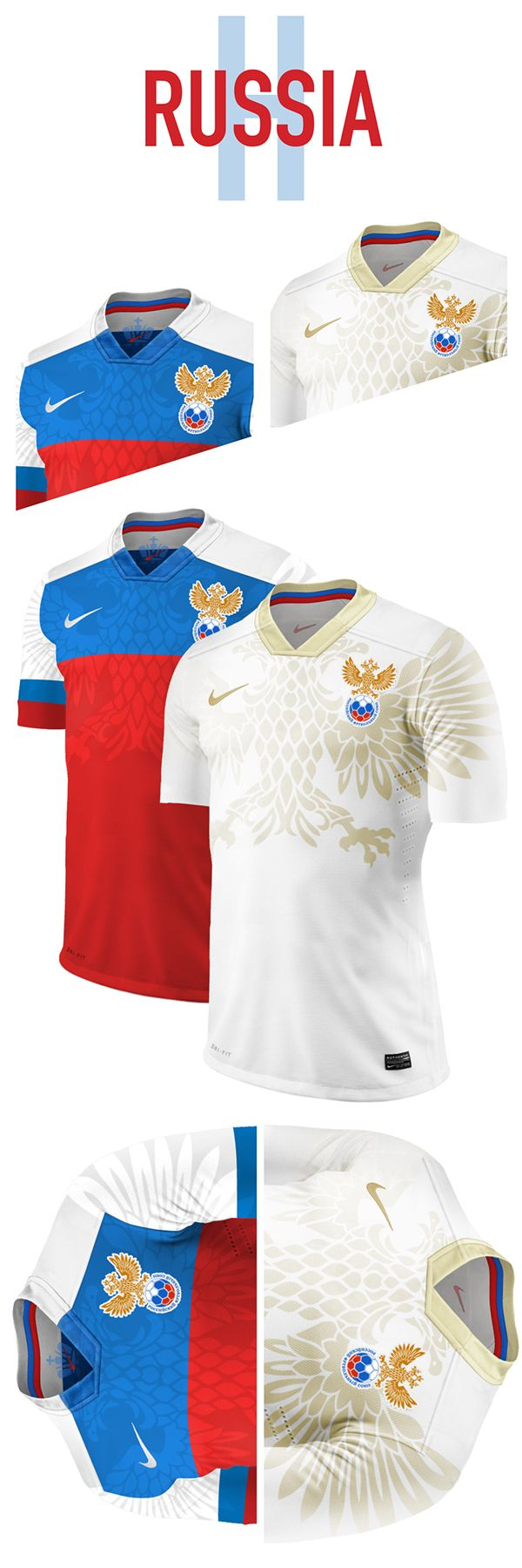 World Cup. Group H. Concepts by Nerea Palacios, via Behance