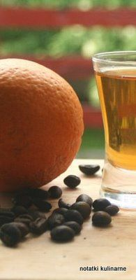 Majowe nalewki pomarańczowa-kawowa