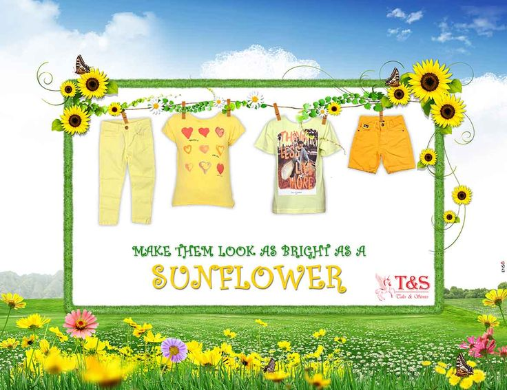 Make them look as bright as #sunflower... Try out #yellow collection >>> http://talesandstories.com/
