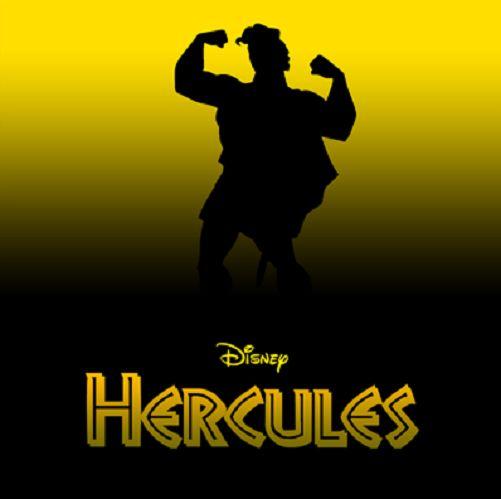 Disney Silhouette Posters Hercules Disney S Hercules