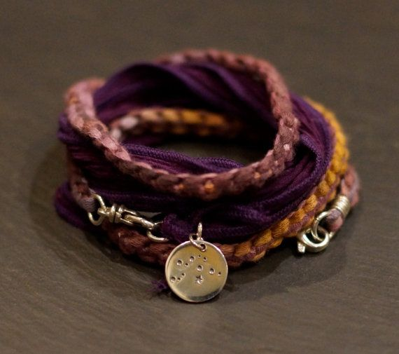 ZODIAC Aquarius/ Warrior Wrap/ bracelet/necklace/ more than