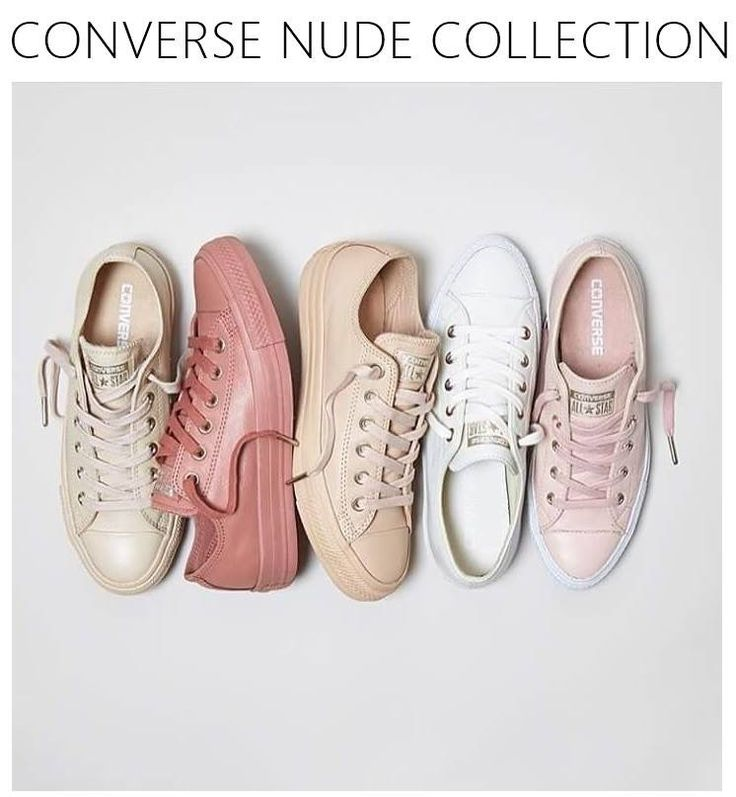 Nude collection converse! I NEED!!!! ❤️❤️❤️ shelbyyy