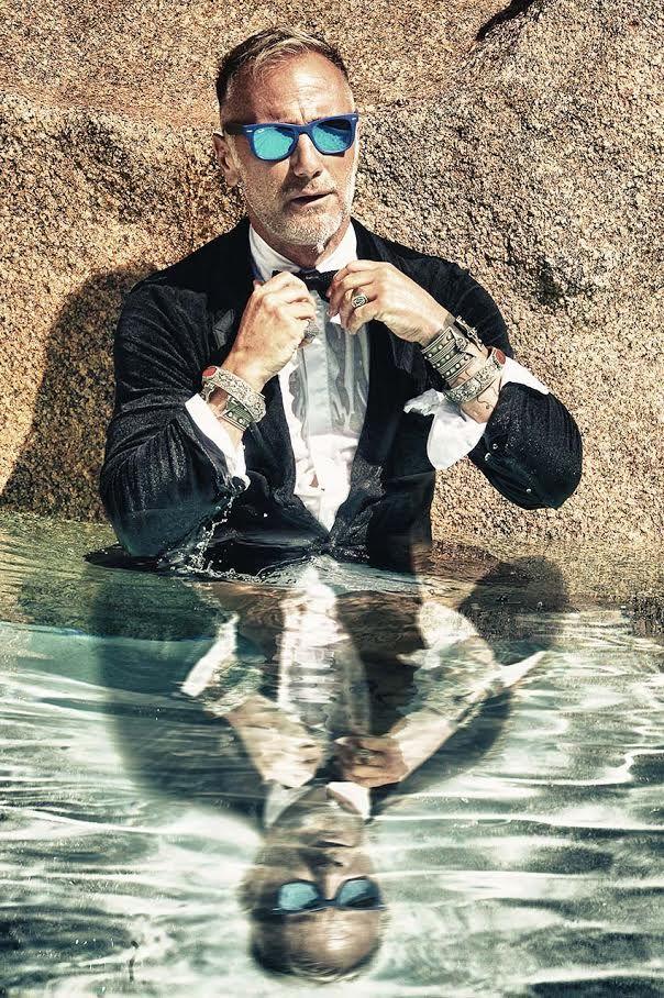 Gianluca Vacchi for HAPPINESS - L'immortale Gianluca Vacchi crea una capsule collection che presenterà a Pitti Uomo, forse camminando sulle acque (tanto lui può) - Read full story here: http://www.fashiontimes.it/2015/01/gianluca-vacchi-for-happiness/
