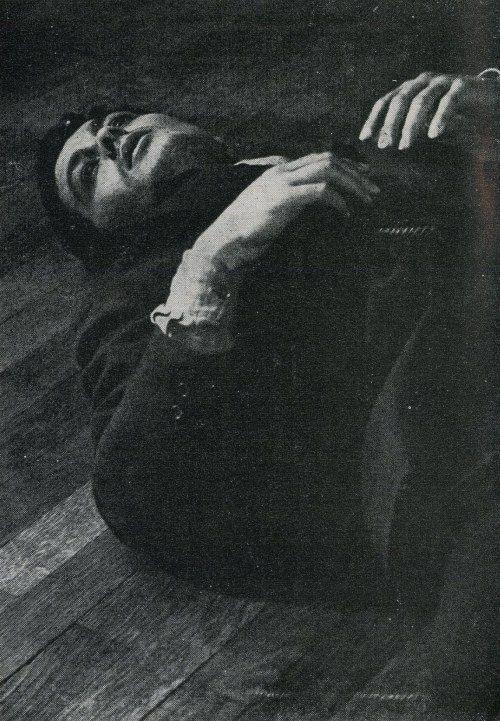 Alain Delon in in L'Insoumis by Alain Cavalier, 1964.