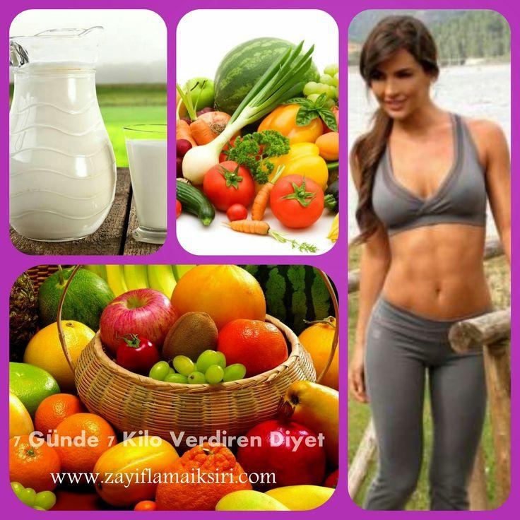 7 günde 7 kilo verdiren diyet  #diyet #zayıflama #kiloverme #zayıflamayöntemleri #hızlıkiloverdirendiyetler