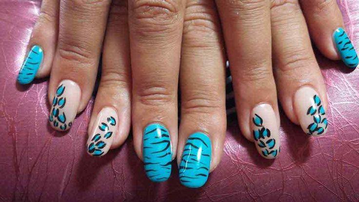 photo de manucure au gel deco ongle gel nail art par l. Black Bedroom Furniture Sets. Home Design Ideas