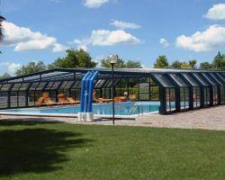 coperture scorrevoli per piscine professionale