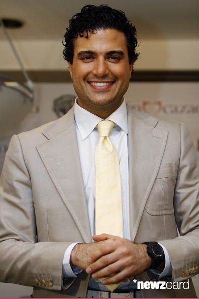 Jaime Camil poses for a portrait during the Recien Cazado photocall at the Four Seasons Hotel on August 20 in Mexico City, Mexico. (Photo by Hector Vivas/Jam Media/LatinContent/Getty Images)