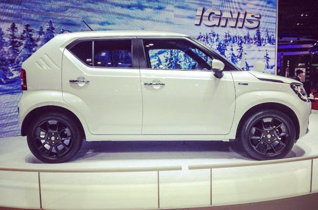 #allnew #suzuki #ignis at #frankfurt #motorshow .  #suzukiignis #newignis #ignis2016 #crossover #suv #instasuzuki #awd #allgrip #allnew #japan #japancar #newcar #worldcar #worldpremiere #traction #tradition #profile #outdoor #wayoflife #suzukicars by suzukicars