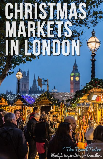 Christmas market, london.