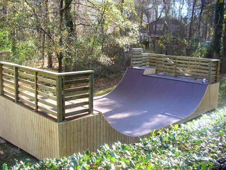 """4"""" (1.2 m) mini ramp with extension"""