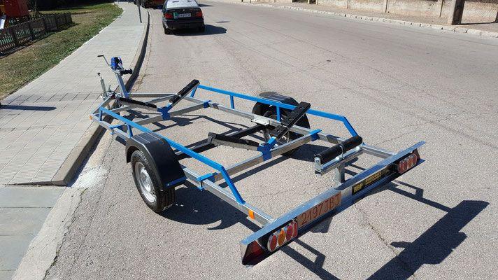remolque kayak - Página web de remolques espana
