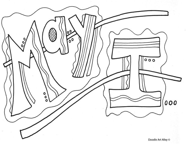 kind words coloring pages