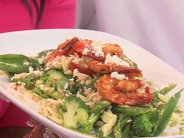 BRIO Tuscan Grille's grilled shrimp Mediterranean recipe (5/2/16) - wptv.com