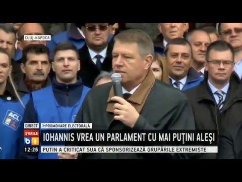 Iohannis - alegerile nu se câștigă de oameni, se câștigă de instituții, ...
