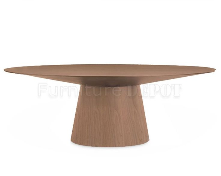 tables walnut finish wood forward modern oval dining table oval
