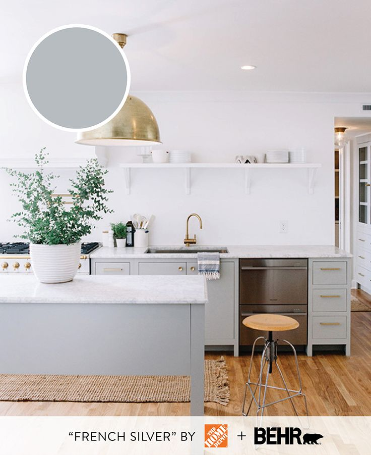 135 best paint inspiration images on pinterest wall for Behr paint for kitchen cabinets