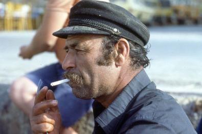 Marine cap,Mustache Greek Fisherman Cap Combo.