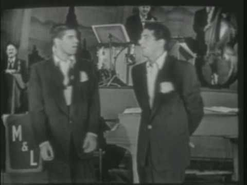 From October 15th, 1950 - Sometimes I think (unfortunately) that their ad-libs - when they end the show with a few extra minutes to kill - are somewhat scripted (especially when they just happen to have perfect props laying nearby). But this end of show stretch definately took Dean and Jerry by surprise. They had no material whatsoever prepared ...