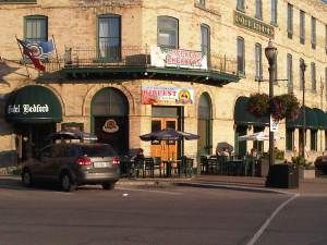 Paddy O'Neil's, in the Hotel Bedford, downtown Goderich Ontario.