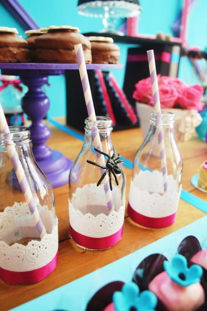 Monster High Party with Lots of Cute Ideas via Kara's Party Ideas | KarasPartyIdeas.com #MonsterHighParty #Party #Ideas #Supplies (13)